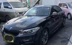 BMWバンパー修理